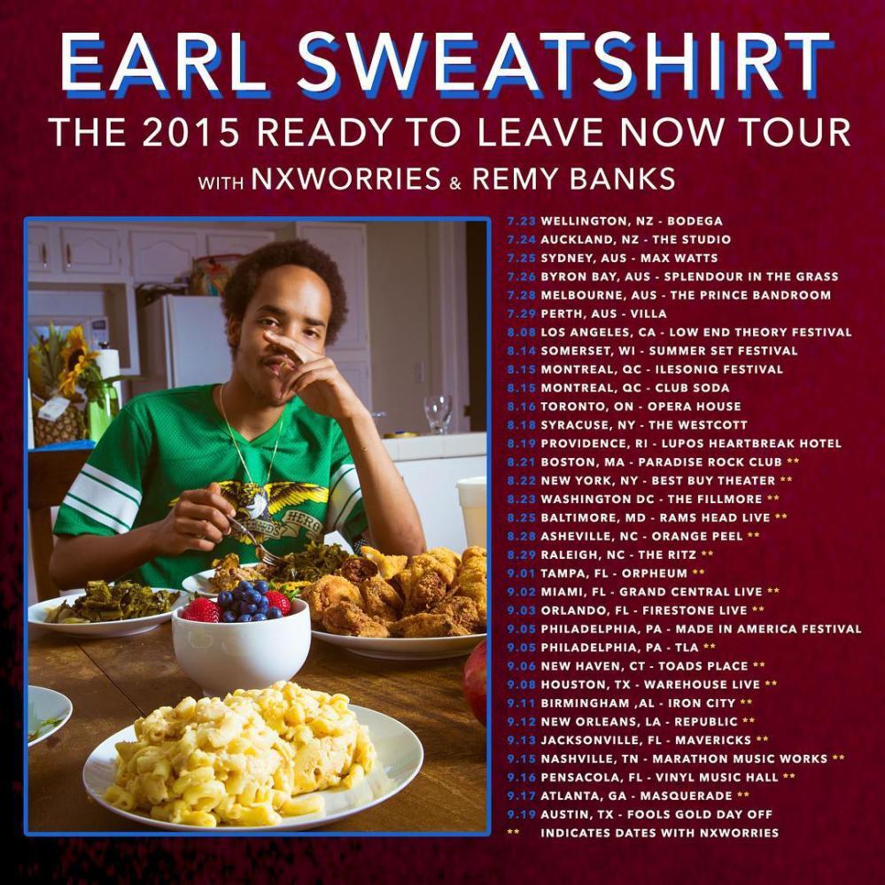earl tour